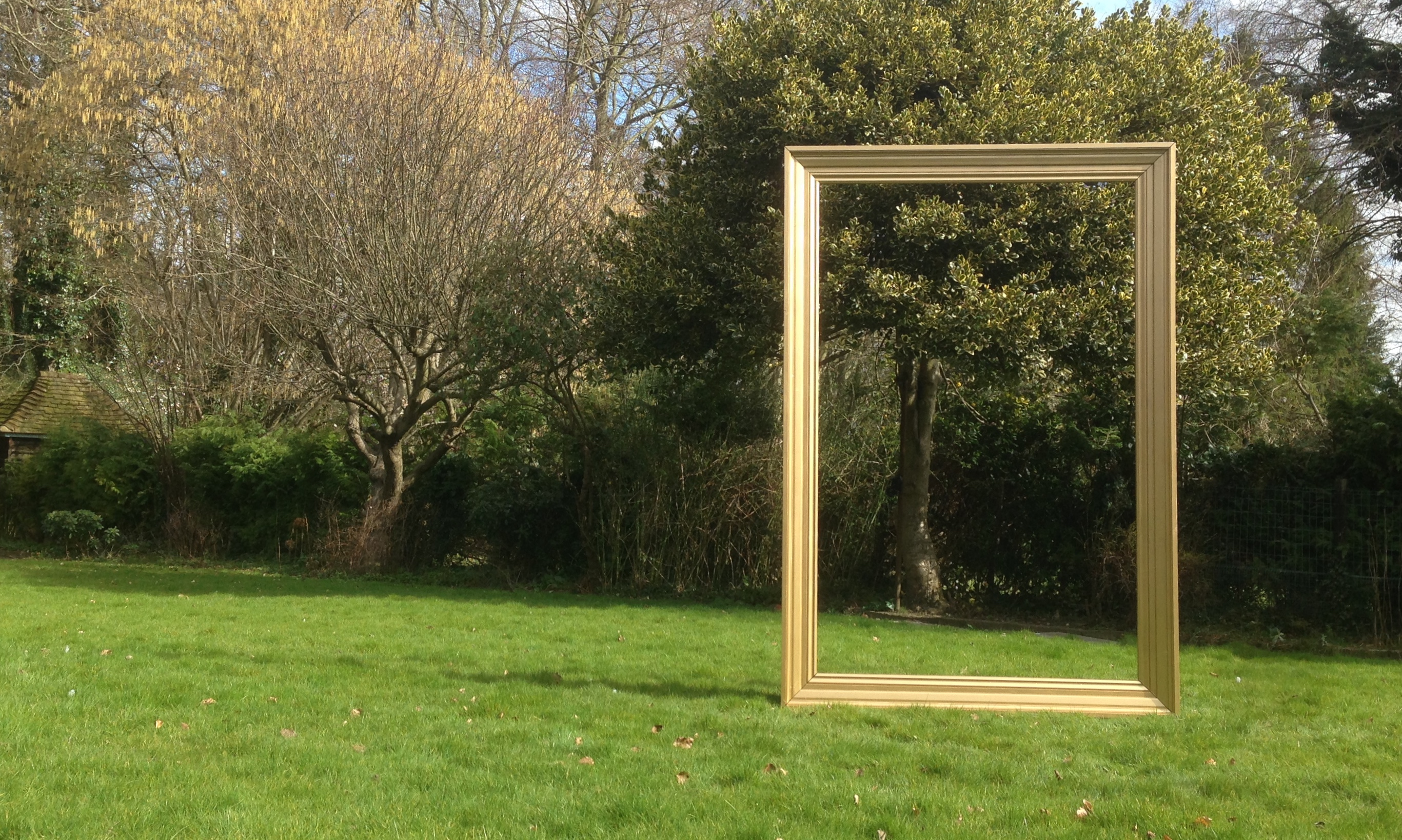Giant Gold Frame Dream Scenes